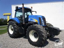 """2007 Tractor New Holland 8040"""","""
