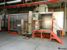 Eisenmann Auto Powdercoat unit