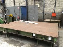 Clamping table 3860 x 2800 mm