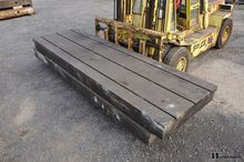 Used T-slot table 50