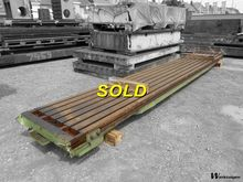 Floorplate 7400 x 1050 x 140 mm