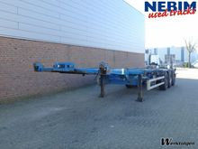 1999 Fliegl Container chassis 3
