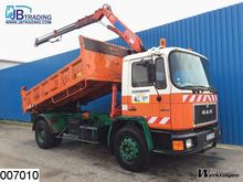 1992 MAN 17.232 4x2 Tipper + cr