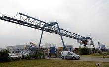 Demag / HMC Portaalkraan 25 ton