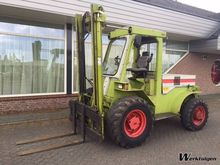 Used Claas Ruw terre