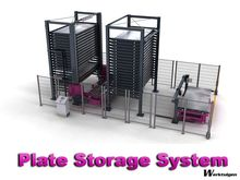 Remmert-Bystronic Plate storage