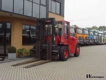 1997 Hyster 10 Tons forklift
