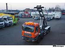 2002 MAN TGA 460 8x4 Cable syst