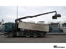 Used Scania P380 8x4