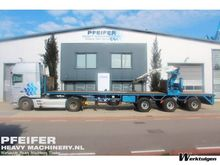 1998 Pacton TPD347 Flatbed semi
