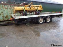 Landbouwwagen aanhanger/balenwa