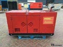 1997 Denyo 20 kVA silent genera