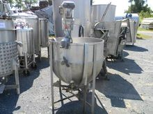 HUBBERT NB#187 Jacketed Kettle