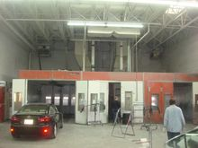 2  Blowtherm Spraybooths with M