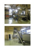 stale bread processing plant fo