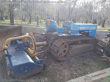 6500 crawler tractor with mulch