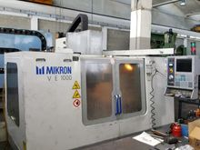 Used 2001 MIKRON VCE