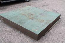 """6'6"""" X 6' CAST IRON SURFACE PLA"""
