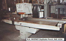 Whitney 0030 30 TON MODEL #635A