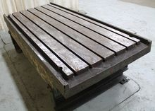"40"" X 90"" T-SLOTTED TABLE"