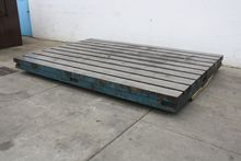 "Used 96"" X 145"" STEE"