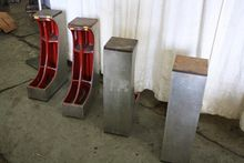 SET OF FOUR NORTON ANGLE PLATES