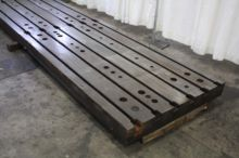 14' X 6' T SLOTTED FLOOR PLATE
