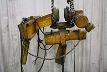 2 TON BUDGIT CHAIN HOIST WITH P
