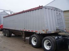 1996 JET STEEL GRAIN TRAILER