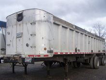 2001 East Aluminum Dump Trailer