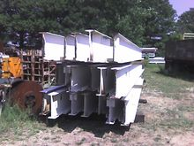 Used (18) I Beams 32