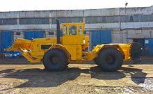 Bulldozer wheel with the rear a