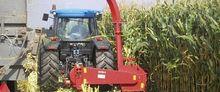 Single-row corn header for FOKA