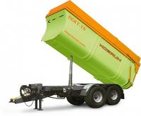 Semitrailer dump-truck ПСКТ-15