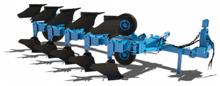 Reversible plow PERESVET PPO 5-