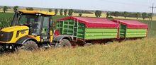 Two-axle transport trailer P lo