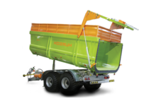 Semitrailer dump truck PSKT-18