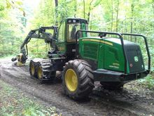 2009 John Deere 1270E Harvester