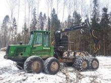 2010 John Deere 1510E Forwarder