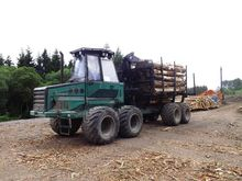 2005 Logset 8F Forwarder