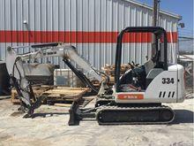 2003 Bobcat 334 Excavator