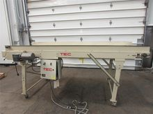 "Used 40"" Wide x 108"" Tec Box Co"
