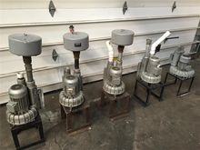 5 Boro SAP 110 Vacuum Pumps, .9