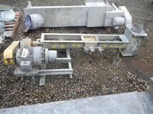 "6"" x 5'6"" Screw Conveyor S/S"