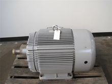 100 HP Brook Crompton AC Motor,