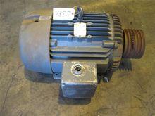 25 HP Baldor AC Motor, 230/460