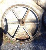 """Vintage Industrial 56.5"""" Flywhe"""