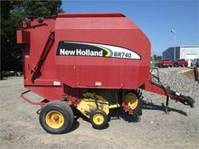 2007 NEW HOLLAND BR740A