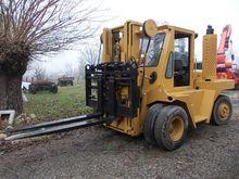 Wiggins 156Y Diesel Forklift Tr