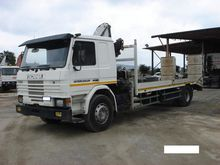 1988 Scania P93 Flatbed Truck